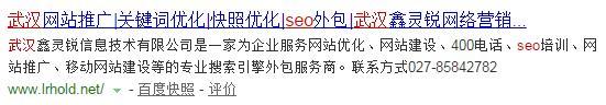 第五名武汉SEO公司2